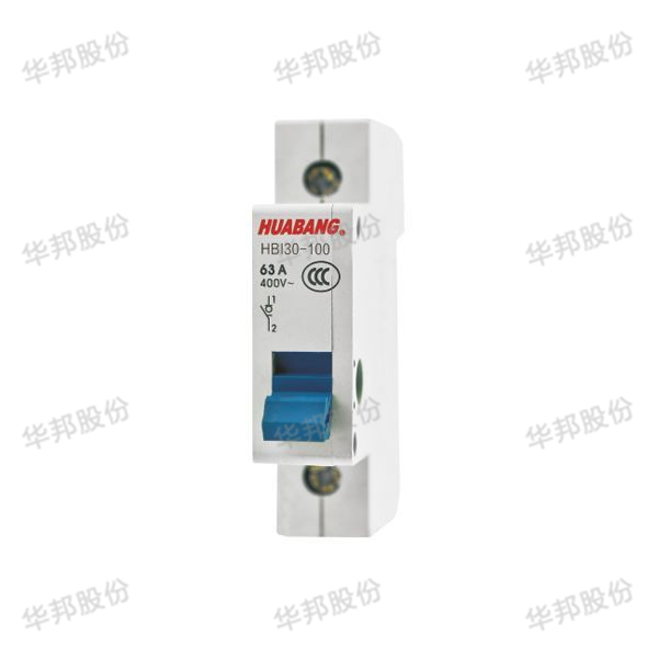 Hbi30-100 series isolation switch