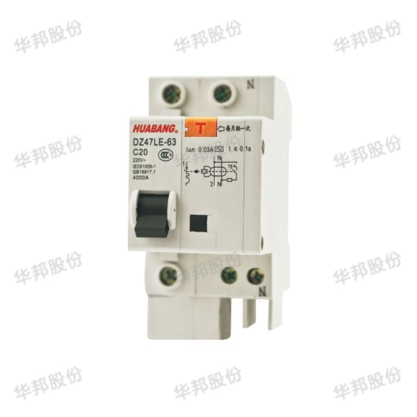 The DZ47LE - 63 series small leakage circuit breakers