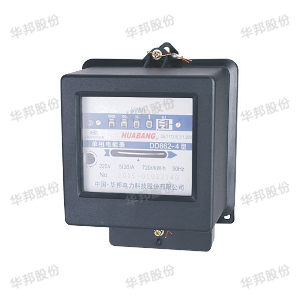 DD862 single-phase kilowatt-hour meter