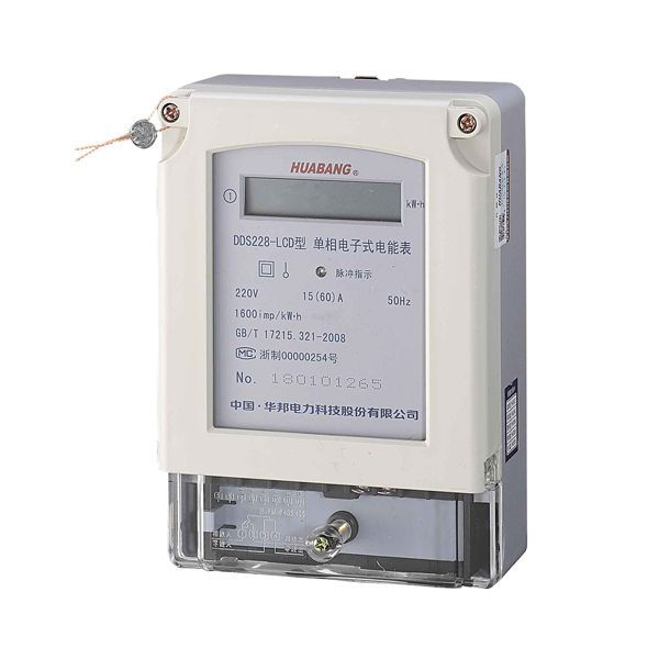 DDS228 single phase electronic energy meter