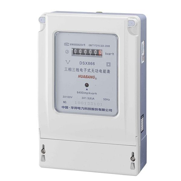 DTX866, DSX866 three-phase electronic reactive power meter